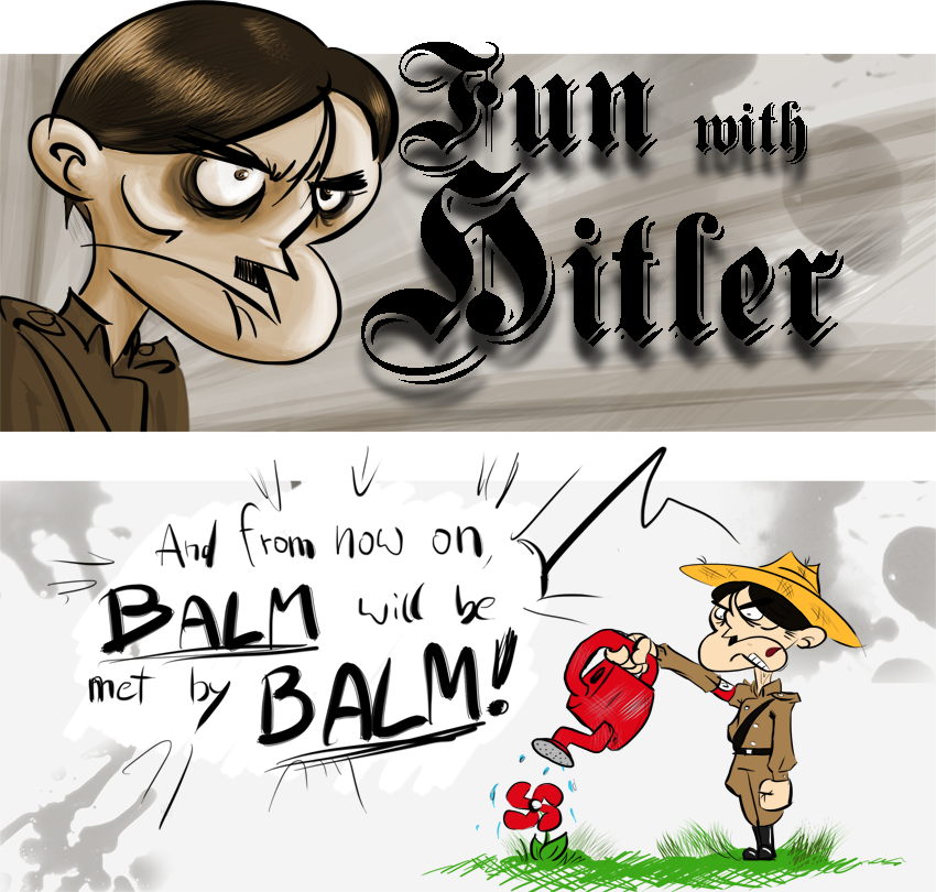 Piece of Me - A webcomic about Hitler and his favourite hobby: gardening!