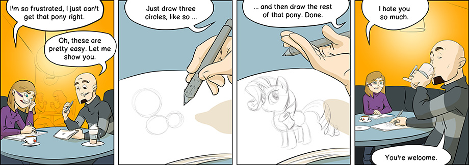 Piece of Me. A webcomic about ponies and easy tutorials.
