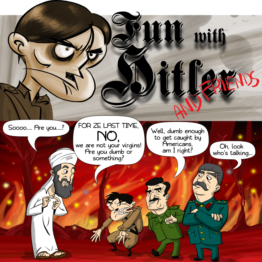 Piece of Me - A webcomic about Hitler and his friends.