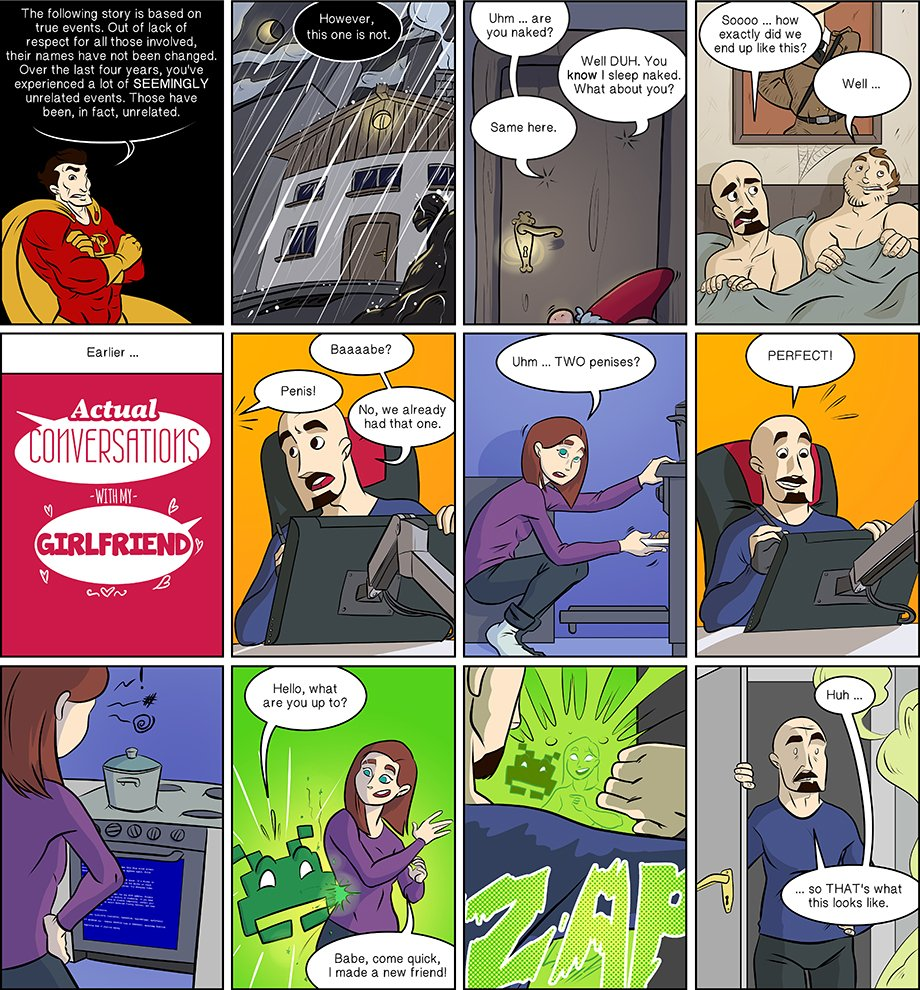 Piece of Me. A webcomic about the mysterious vanishing of Tami and the beginning of a storyline.