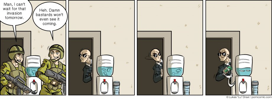 Piece of Me. A webcomic about shady water coolers.