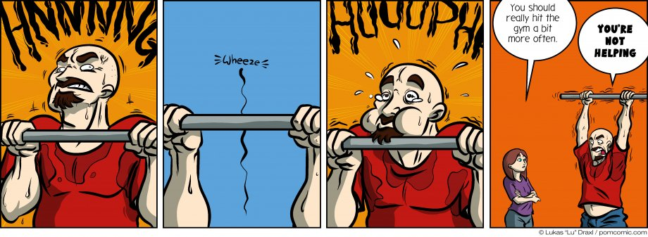 Piece of Me. A webcomic about gyms and weak nerds.