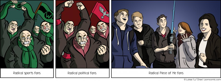 Piece of Me. A webcomic about radical fans and a little pandering. Thanks for your support!