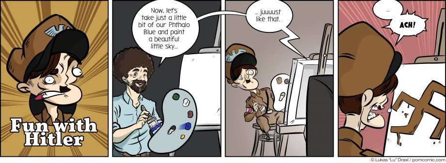 Piece of Me. A webcomic about failed careers and lacking competence.