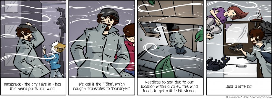 Piece of Me. A webcomic about particular winds in particular valleys.