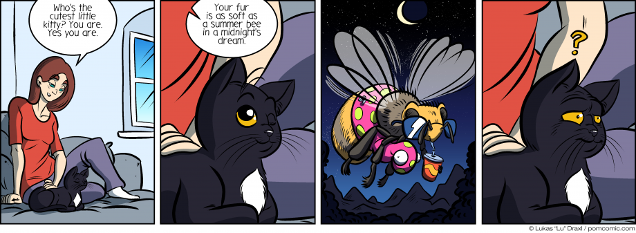 Piece of Me. A webcomic about cute kitties and summer bees or something.