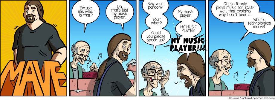 Piece of Me. A webcomic about music players and technological marvels.