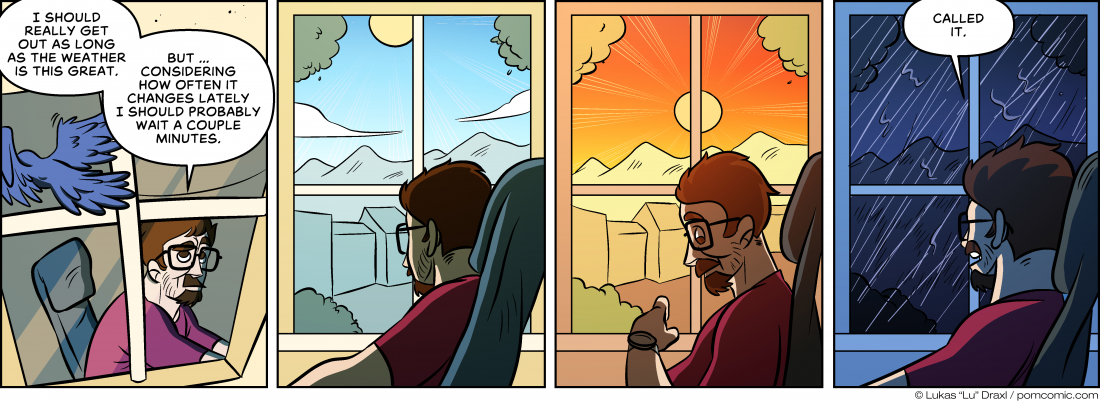 Piece of Me. A webcomic about beautiful but changing weather.
