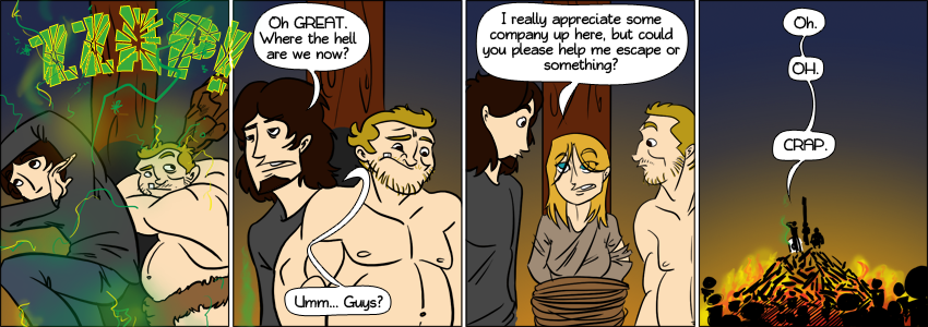 Piece of Me - A webcomic about the dark middle ages.