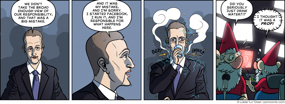 Piece of Me. A webcomic about influental figures and the manipulators behind them.
