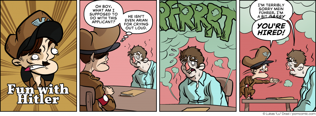 Piece of Me. A webcomic about awful applicants and gas.