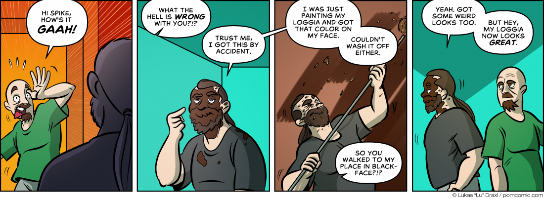 Piece of Me. A webcomic about accidental social taboos.