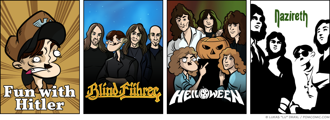 Piece of Me. A webcomic about yet more fun with metal and rock bands.