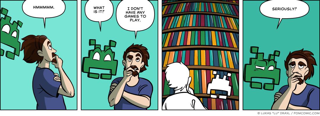 Piece of Me. A webcomic about too much choice.