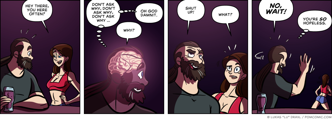 Piece of Me. A webcomic about flirting and communication issues.