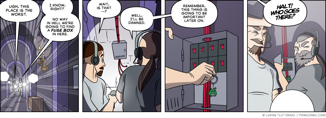 Piece of Me. A webcomic about well hidden fuse boxes.