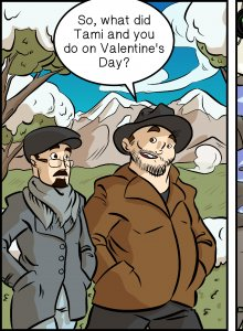 Piece of Me. A webcomic about a gamers Valentines Day in Borderlands 2.
