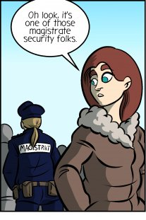 Piece of Me. A webcomic about security officers and pepper spray.