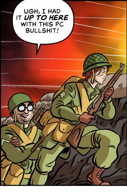 Piece of Me. A webcomic about historical accuracy and realism in WW2 games.