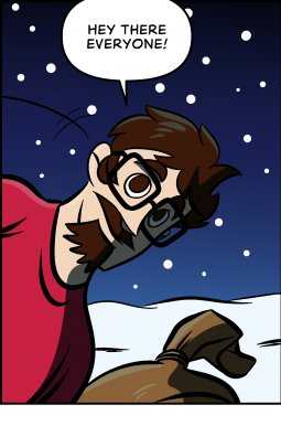 Piece of Me. A webcomic about a much needed christmas break. See ya next year!